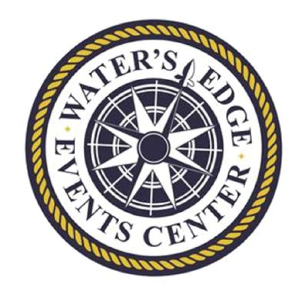 Water's Edge Event Center logo