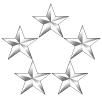 5-star sponsorship icon