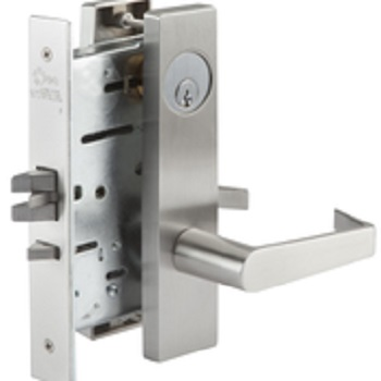 mortise storeroom lockset, philadelphia handle